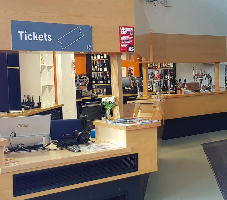 Oliveti Construction Haymarket Theatre refurbishment of Ticket Office